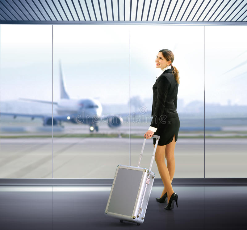 ταξιδιώτης αποσκευών στοκ εικόνες με δικαίωμα ελεύθερης χρήσης