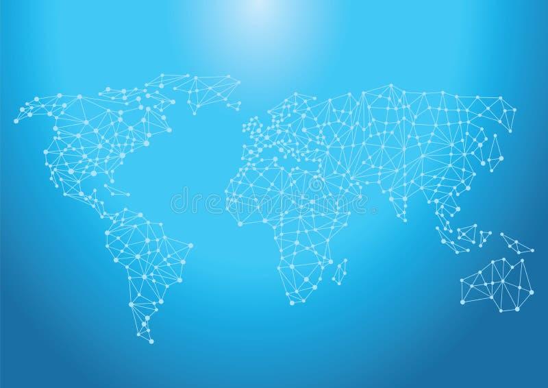 Ταξινομικό παγκόσμιο δίκτυο απεικόνιση αποθεμάτων
