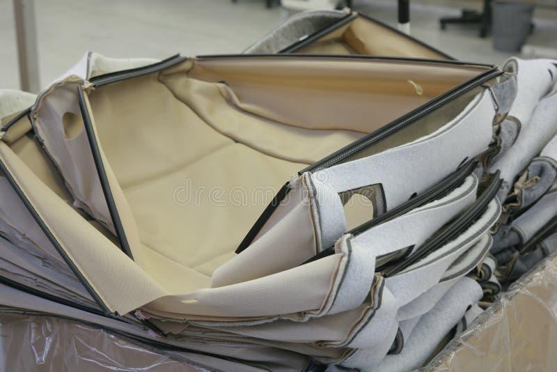 Ταπετσαρία καθισμάτων αυτοκινήτων στοκ φωτογραφίες με δικαίωμα ελεύθερης χρήσης