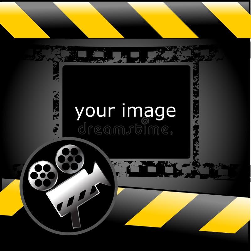 ταπετσαρία κινηματογράφω διανυσματική απεικόνιση