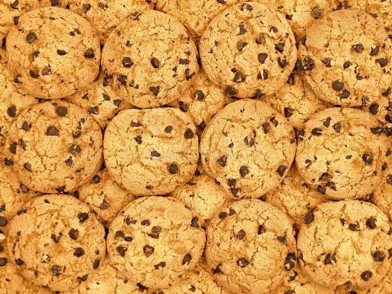 ταπετσαρία μπισκότων σοκ&om στοκ εικόνα με δικαίωμα ελεύθερης χρήσης