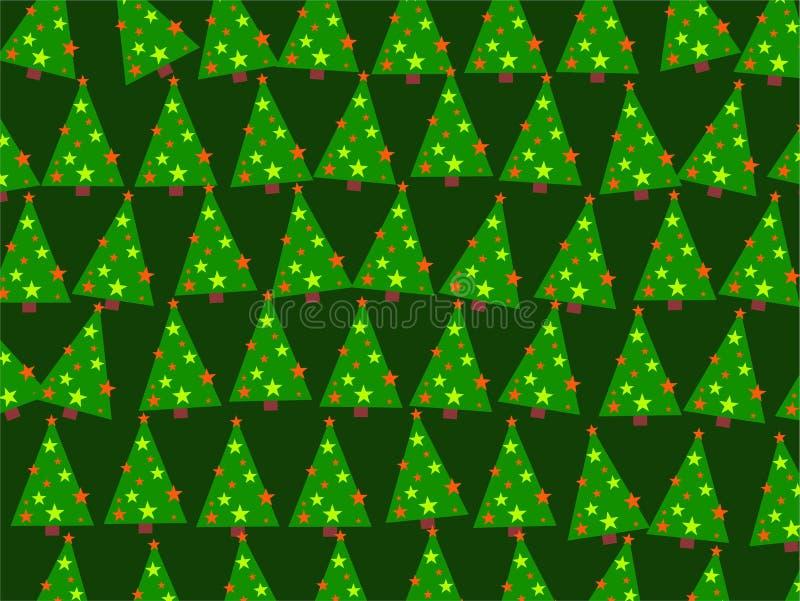 ταπετσαρία Χριστουγέννω&nu διανυσματική απεικόνιση