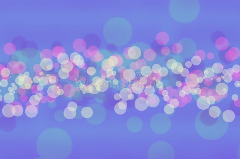 Ταπετσαρίες και υπόβαθρα σύστασης Blure bokeh απεικόνιση αποθεμάτων