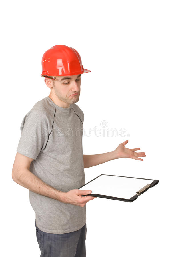 ταραγμένος εργαζόμενος στοκ φωτογραφίες με δικαίωμα ελεύθερης χρήσης