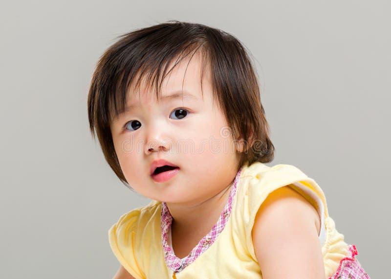 Ταραγμένο κοριτσάκι στοκ εικόνα με δικαίωμα ελεύθερης χρήσης