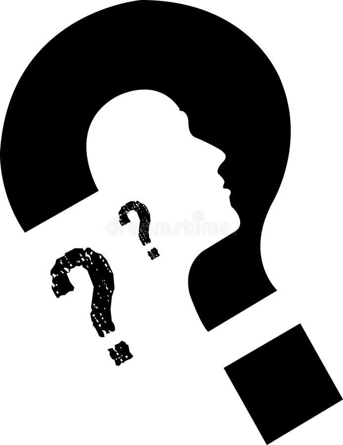 ταυτότητα προσωπική διανυσματική απεικόνιση