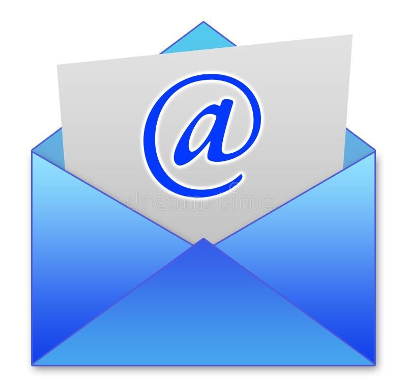 ταχυδρομείο ε διανυσματική απεικόνιση