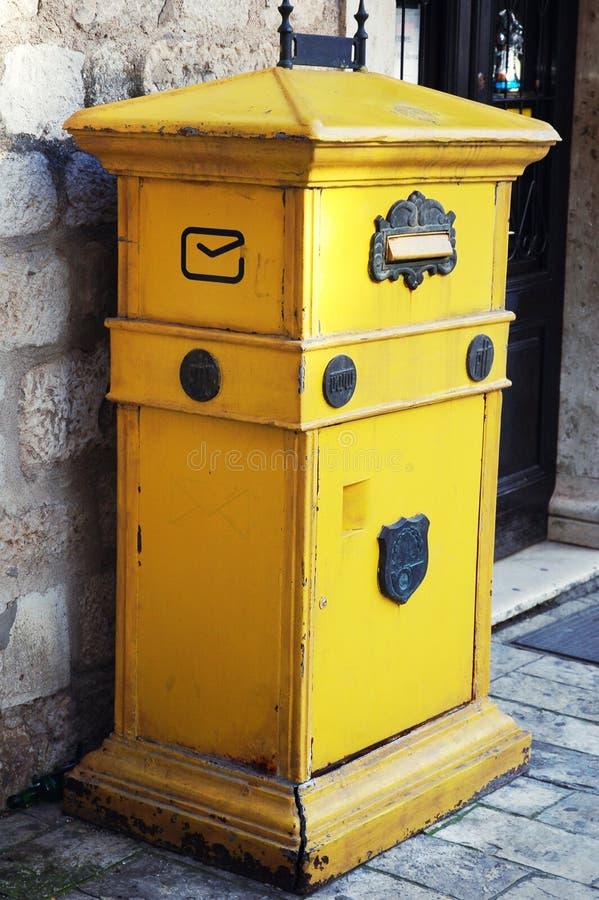 ταχυδρομείο Μαυροβούν&iota στοκ φωτογραφίες με δικαίωμα ελεύθερης χρήσης