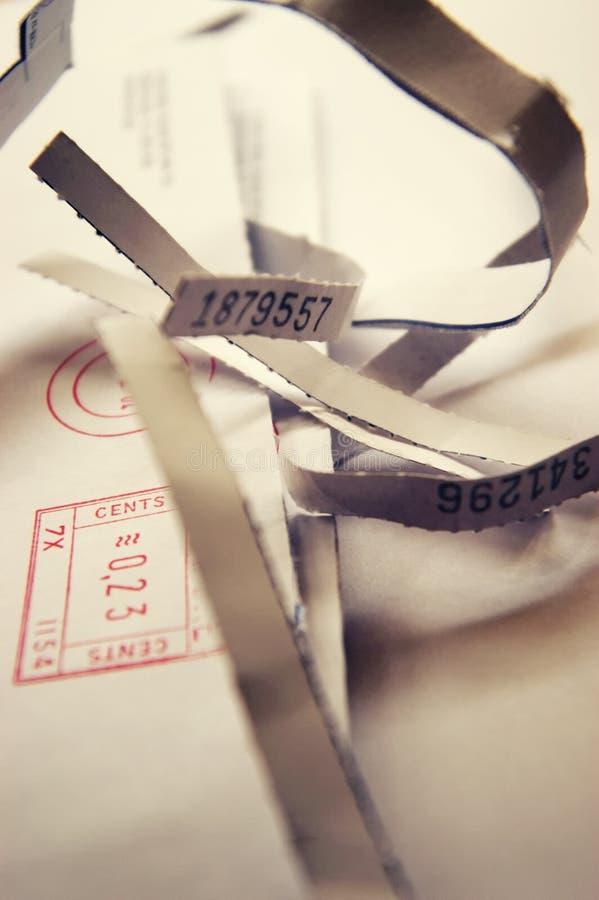 ταχυδρομείο που ανοίγ&omicron στοκ εικόνες