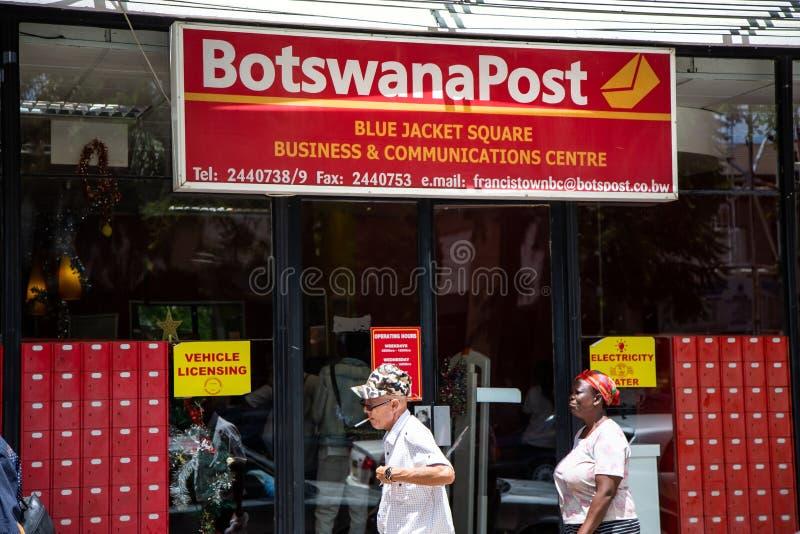 Ταχυδρομείο της Μποτσουάνα στη Μποτσουάνα στοκ εικόνα