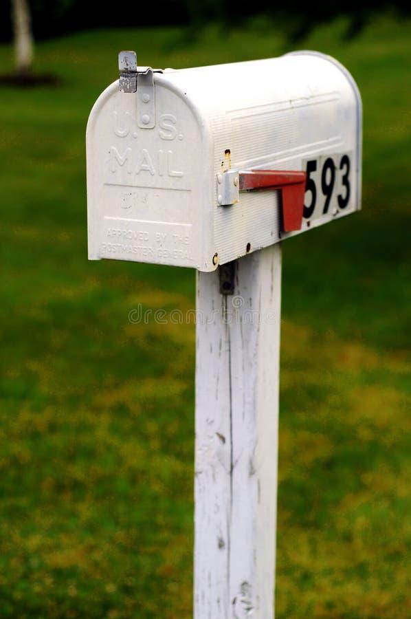 ταχυδρομική θυρίδα εμείς στοκ εικόνες με δικαίωμα ελεύθερης χρήσης