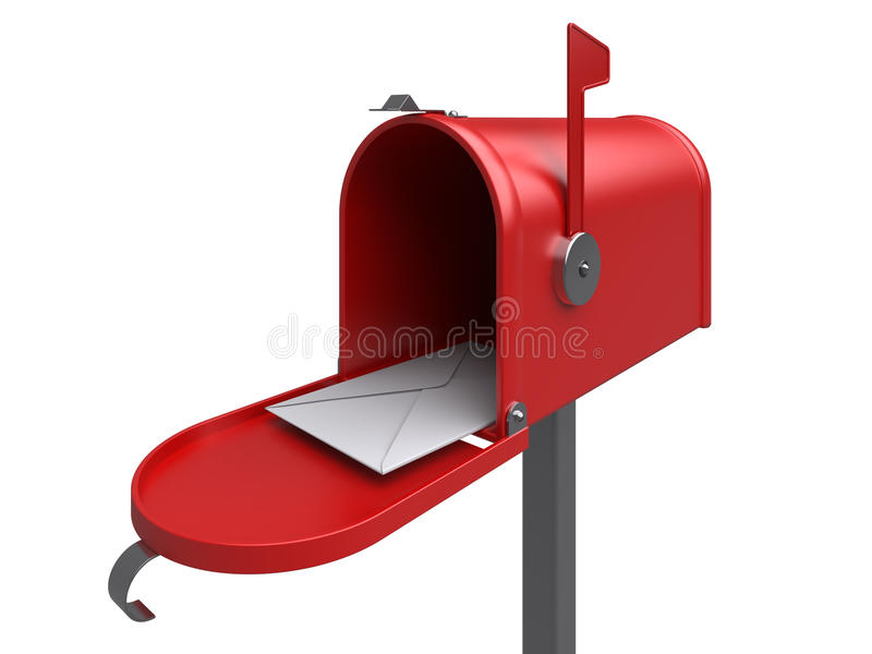 ταχυδρομική θυρίδα επιστολών ελεύθερη απεικόνιση δικαιώματος