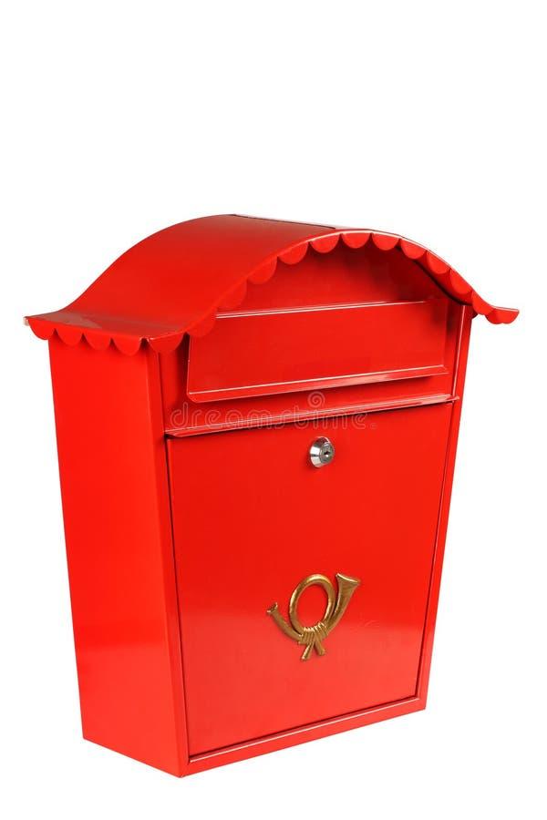 ταχυδρομική θυρίδα παραδοσιακή στοκ φωτογραφία