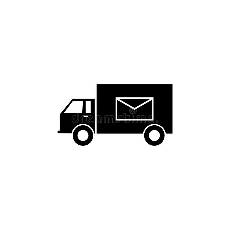 ταχυδρομικό εικονίδιο μηχανών Στοιχείο του εικονιδίου διοικητικών μεριμνών Γραφικό εικονίδιο σχεδίου εξαιρετικής ποιότητας Εικονί ελεύθερη απεικόνιση δικαιώματος