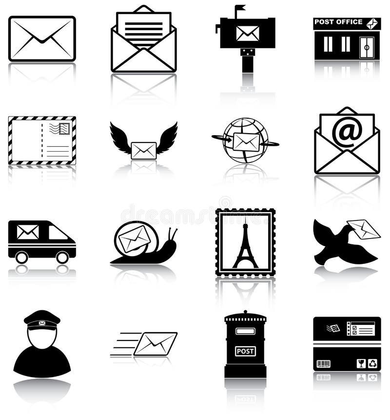 Ταχυδρομείο ελεύθερη απεικόνιση δικαιώματος