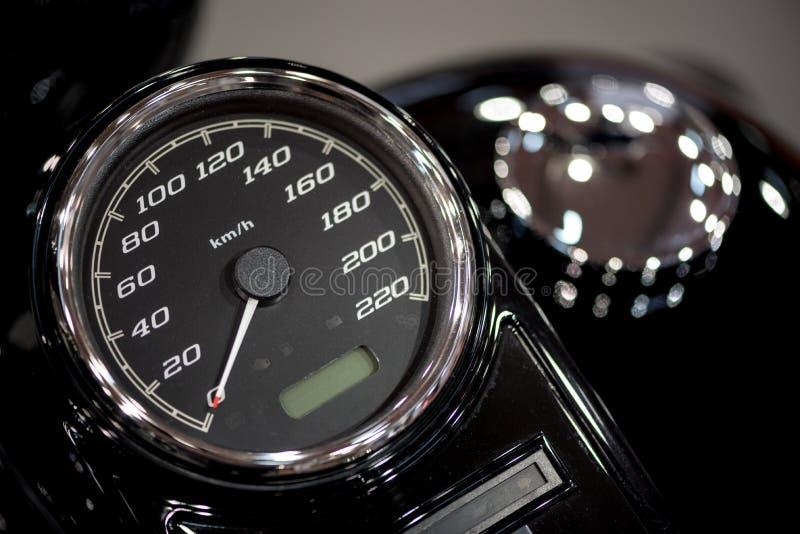Ταχύμετρο μοτοσικλετών στοκ εικόνες με δικαίωμα ελεύθερης χρήσης