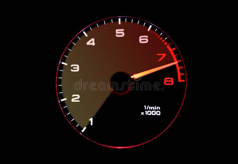 ταχύμετρο στοκ εικόνα