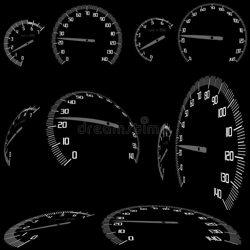 ταχύμετρο απεικόνιση αποθεμάτων