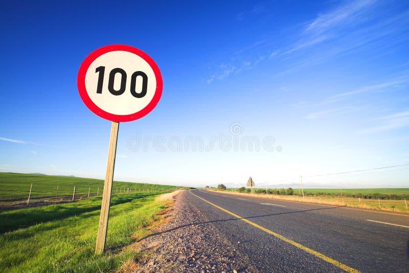 ταχύτητα οδικών σημαδιών ο&rh στοκ εικόνα