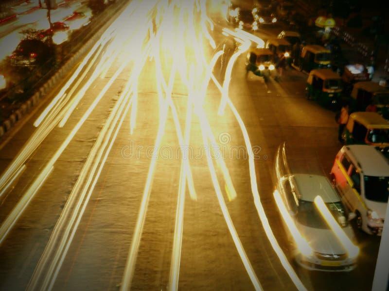 Ταχύτητα παραθυρόφυλλων tym τη νύχτα στοκ φωτογραφίες με δικαίωμα ελεύθερης χρήσης