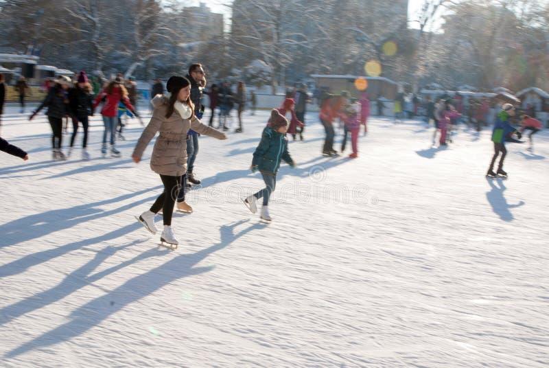 Ταχύτητα στον πάγο στοκ εικόνα με δικαίωμα ελεύθερης χρήσης