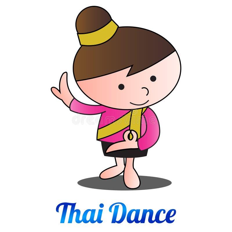 Ταϊλανδική γιρλάντα λουλουδιών ύφους, μια ένδειξη αντικειμένου σεβασμού στο παλαιότερο π απεικόνιση αποθεμάτων