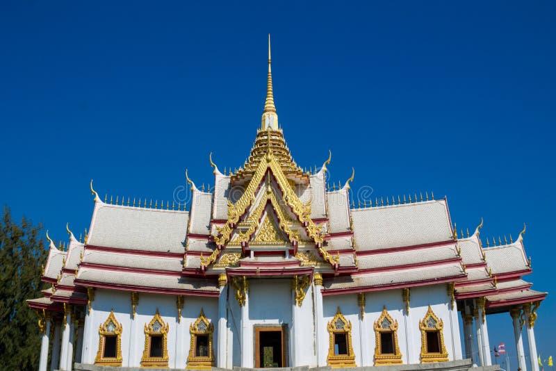 Ταϊλανδικός βουδιστικός ναός Wat στοκ φωτογραφία με δικαίωμα ελεύθερης χρήσης