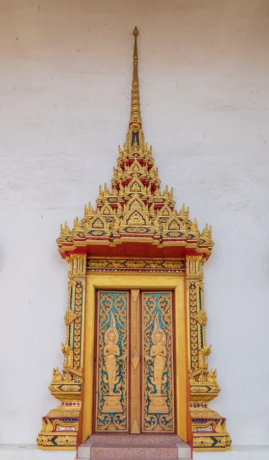 Ταϊλανδικός ναός παραθύρων στοκ εικόνες