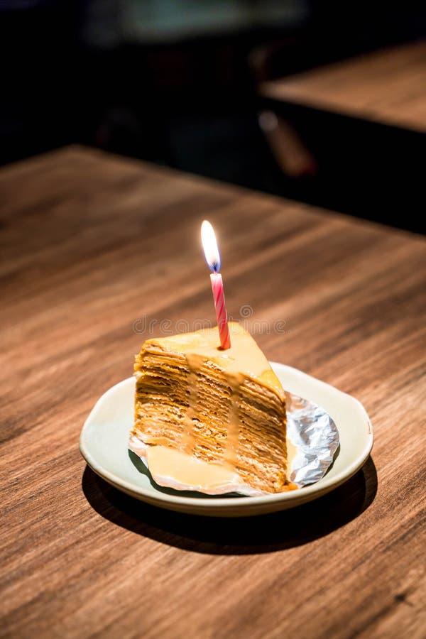 Ταϊλανδικό κέικ υφάσματος κρεπ τσαγιού στοκ εικόνες με δικαίωμα ελεύθερης χρήσης