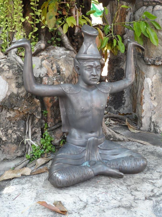 Ταϊλανδικό κέντρο σχολικών υπηρεσιών μασάζ Pho Wat στοκ εικόνες