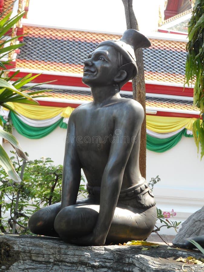 Ταϊλανδικό κέντρο σχολικών υπηρεσιών μασάζ Pho Wat στοκ φωτογραφίες με δικαίωμα ελεύθερης χρήσης