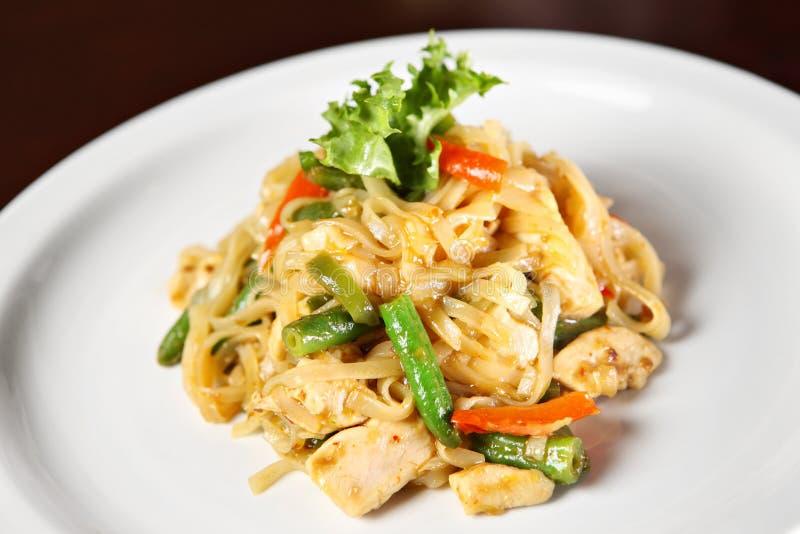 Ταϊλανδικό πιάτο στοκ φωτογραφία με δικαίωμα ελεύθερης χρήσης