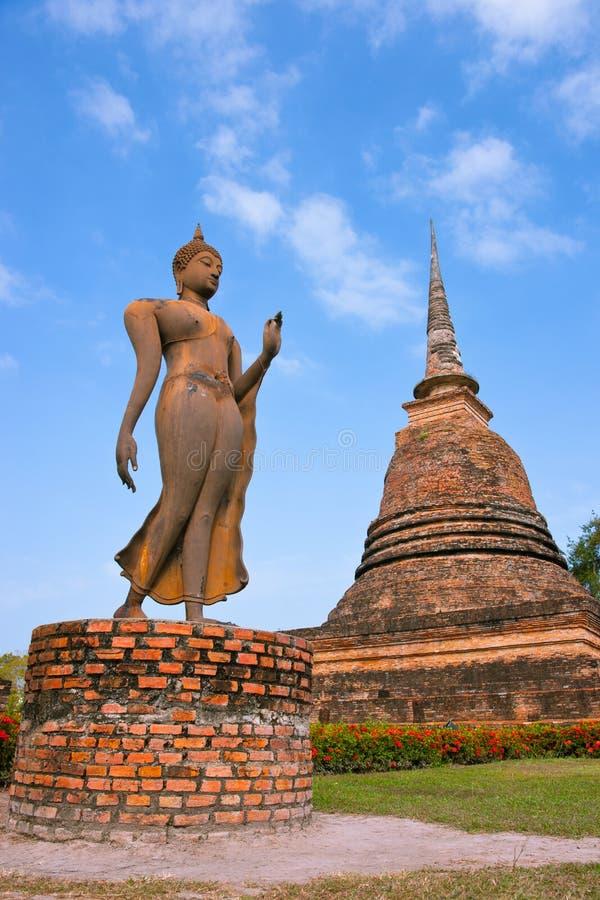 ταϊλανδικό ταξίδι sukhothai πάρκων τ στοκ εικόνες