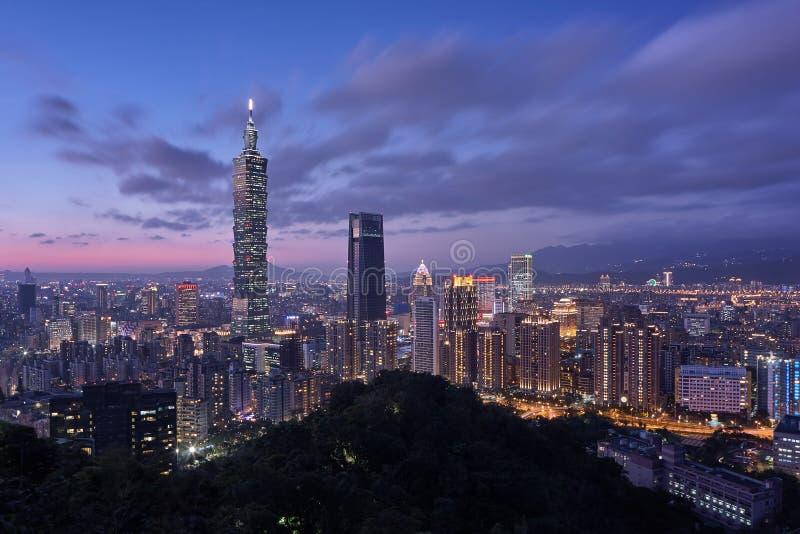 Ταϊπέι 101 πύργος στοκ εικόνα