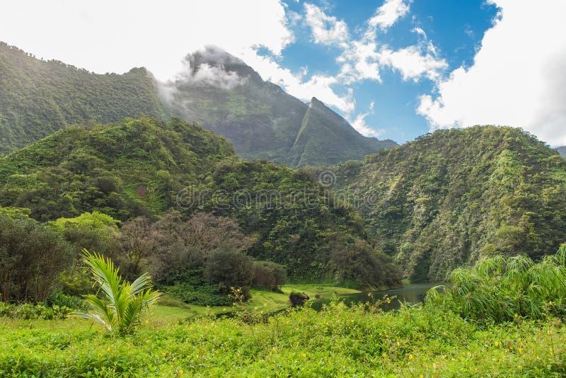 Ταϊτή, τοπίο στοκ εικόνες με δικαίωμα ελεύθερης χρήσης