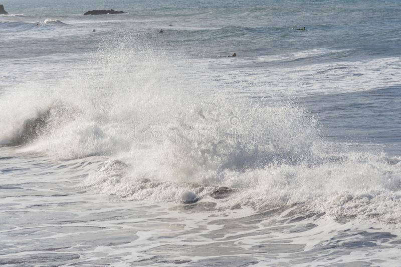 Ταϊτή, ωκεανός στοκ εικόνες