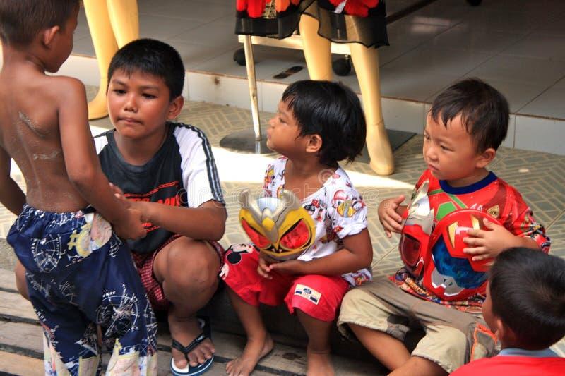 Ταϊλανδικά παιδιά στοκ φωτογραφίες