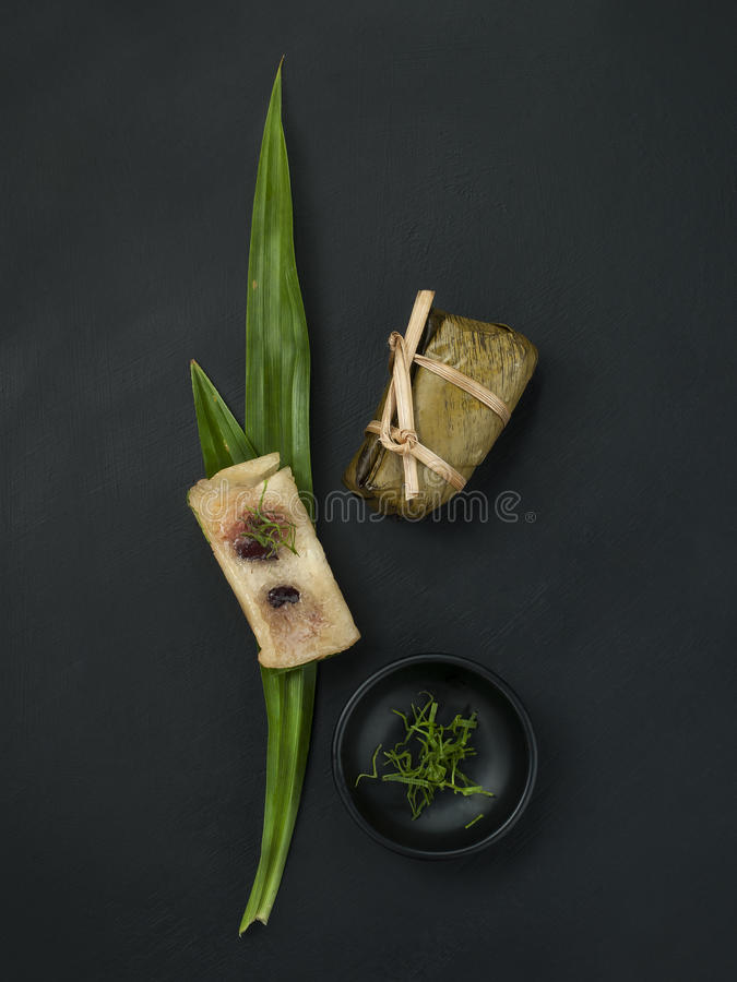 Ταϊλανδικά τρόφιμα προσδιορισμού επιδορπίων σύγχρονα στοκ εικόνες με δικαίωμα ελεύθερης χρήσης