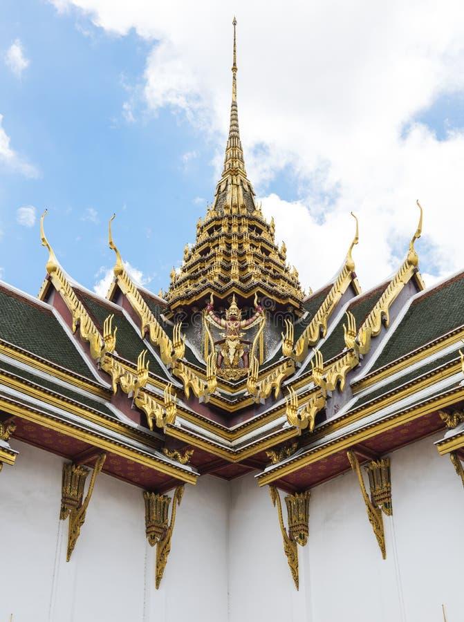 Ταϊλανδική έννοια αρχιτεκτονικής ύφους βουδιστική στοκ εικόνα