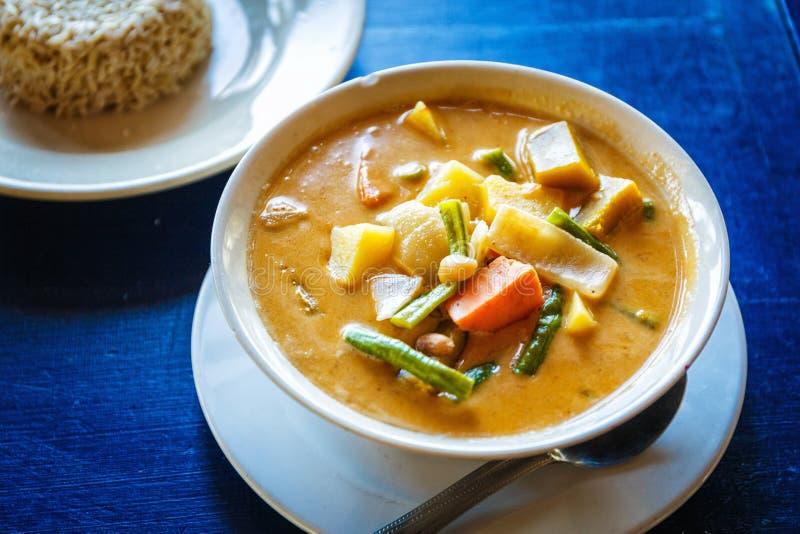 Ταϊλανδική νόστιμη σούπα στοκ εικόνα με δικαίωμα ελεύθερης χρήσης