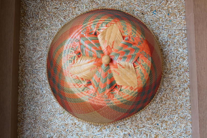 Ταϊλανδική παραδοσιακή κουκούλα στοκ φωτογραφίες
