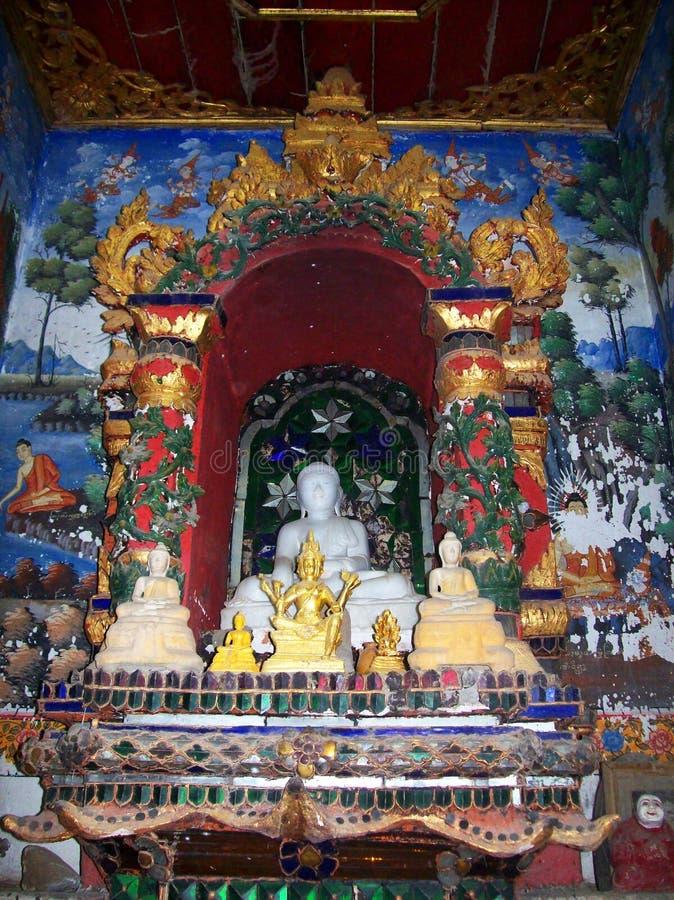 Ταϊλανδική τέχνη στον παλαιό ναό της βόρειας Ταϊλάνδης 10 στοκ φωτογραφίες με δικαίωμα ελεύθερης χρήσης