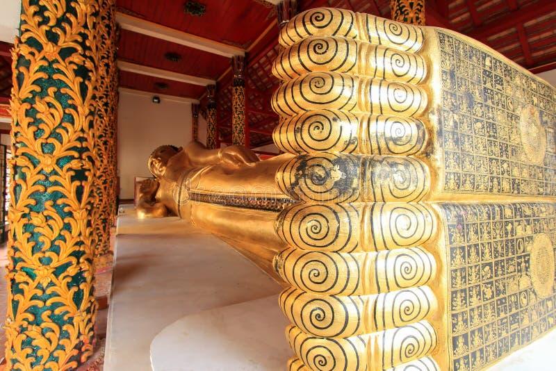 Ταϊλανδικός ναός (phra-κανένας) στοκ εικόνες