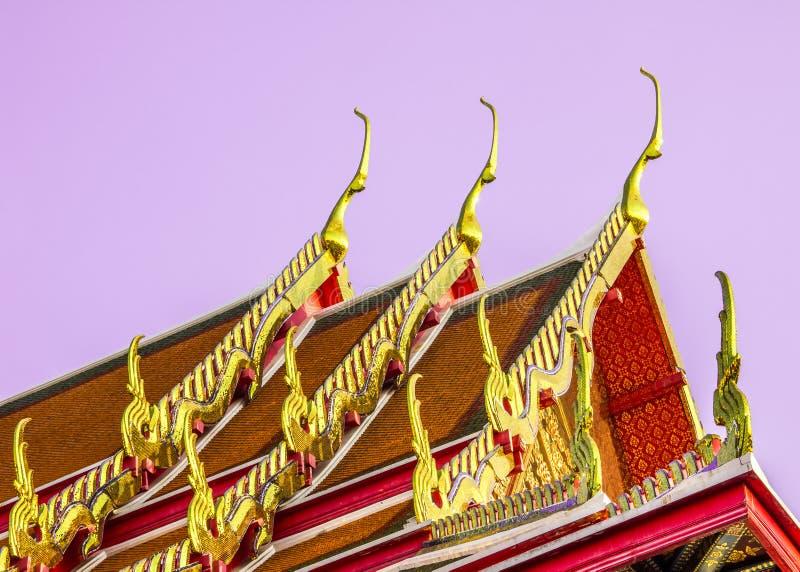 Ταϊλανδικός ναός roof_3 στοκ φωτογραφίες