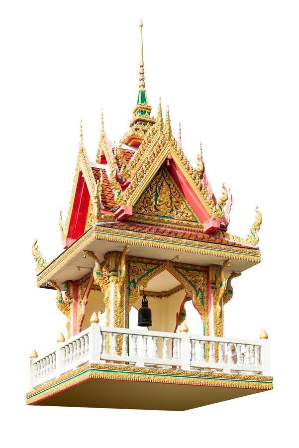 Ταϊλανδικός πύργος κουδουνιών στοκ εικόνες
