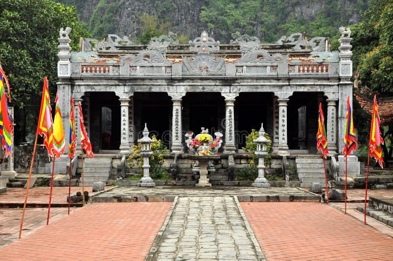 Ταϊλανδικός VI ναός, Βιετνάμ στοκ φωτογραφία