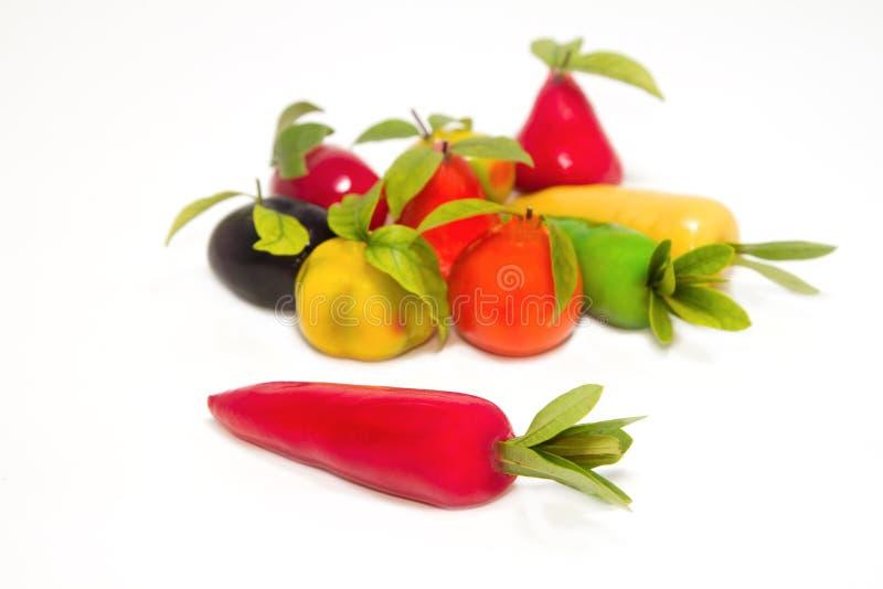 Ταϊλανδικό επιδόρπιο φρούτων Deletable μίμησης στοκ εικόνα με δικαίωμα ελεύθερης χρήσης