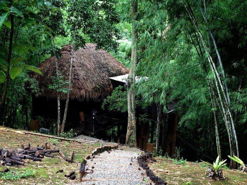 Ταϊλανδικό ξενοδοχείο και θέρετρο - Rai Saeng Arun στοκ φωτογραφίες με δικαίωμα ελεύθερης χρήσης