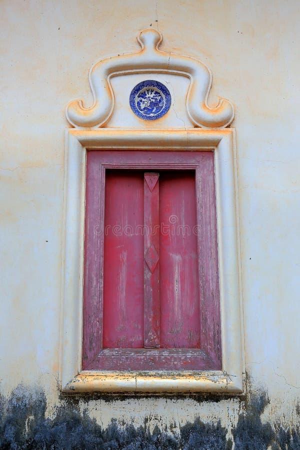 ταϊλανδικό παράθυρο ναών στοκ εικόνες με δικαίωμα ελεύθερης χρήσης