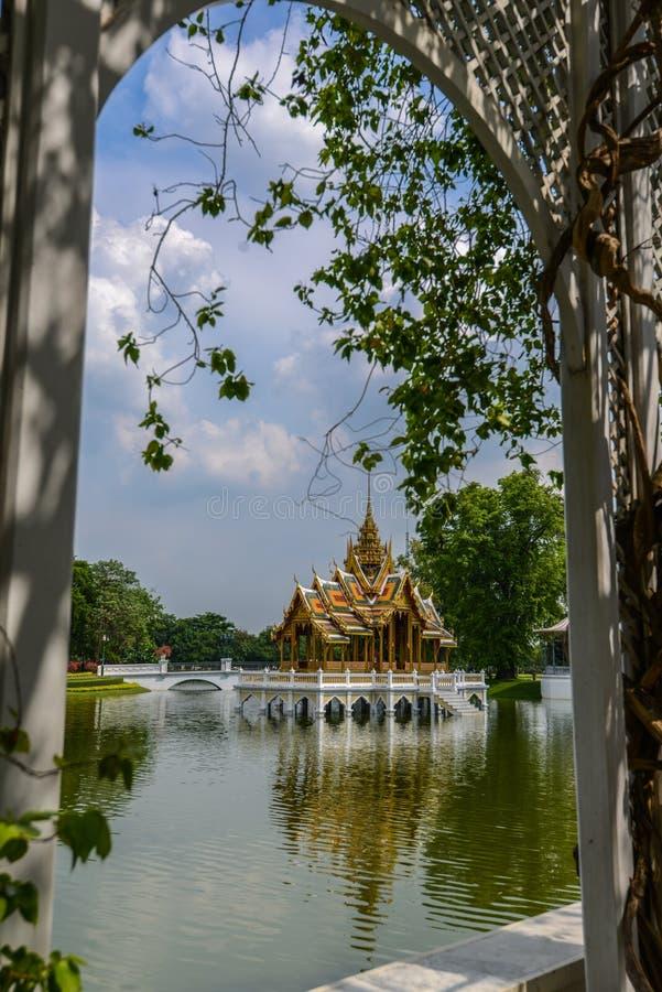 Ταϊλανδικό παραδοσιακό περίπτερο στοκ εικόνες